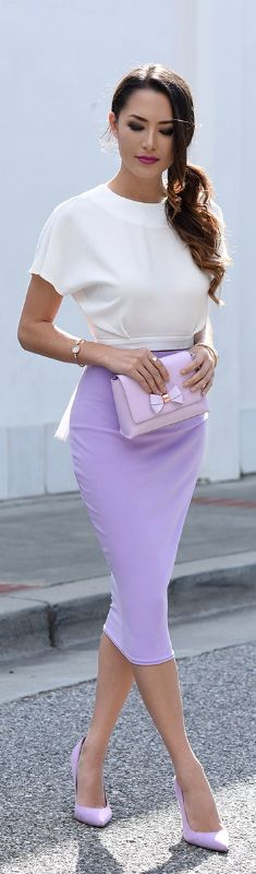 LATELY IN LAVENDER // Fashion Look by Hapa Time