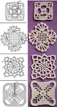 Patrones de ganchillo. Crochet pattern. by faye