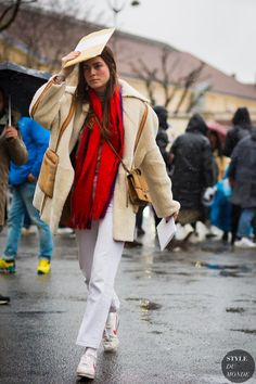 Helena Tejedor Street Style Street Fashion Streetsnaps by STYLEDUMONDE Street Style Fashion Photography