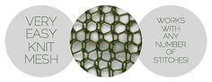 Ravelry: Mrs. Davenport's Mesh pattern by Derya Davenport