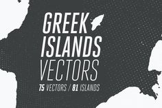 81 Greek Islands Vectors Graphics **Greek Islands Vectors bundle** contains **75** high detailed & fully editable, silhouette &amp by Texture Fabrik