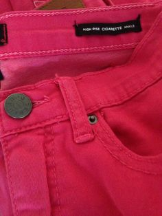 Favorite jeans from Urban! #hotpink #trendy #jeans #colored #urbanoutfitters
