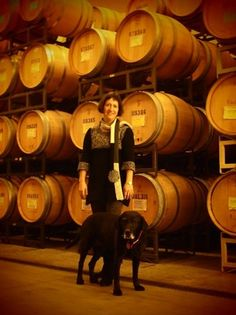Marie-Eve (and Salsa) Gilla of Forgeron Cellars. One of Washington's most pedigreed, and respected, winemakers. Plus, she talks in the French! #Wine #WallaWalla #ForgeronCellars #WAWine
