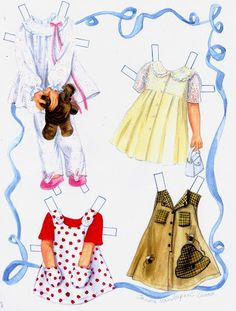 Honey Girl Paper Doll by Connie Marshall (3 of 9) | skleindint1 | MaryAnn | Picasa Web Albums