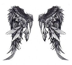 Would love to get these Angel Wings on my wrist to cover up what i have now:)