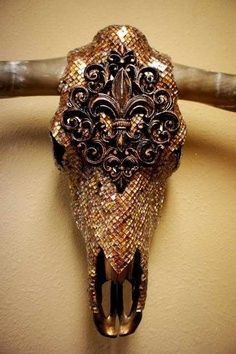 Bronze Animal Skull