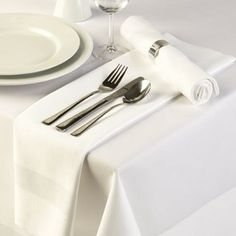 Satin Band Tablecloth