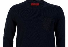 Hugo Boss Doromo Navy Sweatshirt Hugo Boss Doromo Navy Sweatshirt A regular fit sweatshirt from Hugo Red Label featuring a ribbed crew neck collar cuffs and hem. The sweatshirt sports mesh fabric inserts to the shoulders with a match http://www.comparestoreprices.co.uk/designer-sweatshirts/hugo-boss-doromo-navy-sweatshirt.asp