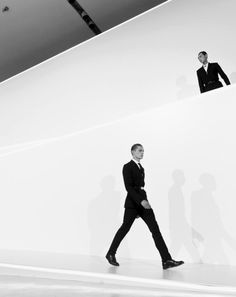 Janis Ancens for Dior Homme A/W '13 in Beijing