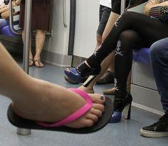 sensible shoes/foolish shoes by janetvincent, via Flickr