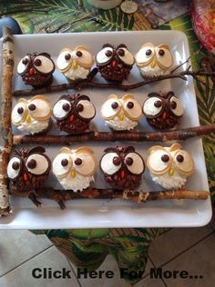 Eulen-Cupcakes Eulen-Cupcakes Eulen-Cupcakes The post Eulen-Cupcakes appeared first on Kindergeburtstag ideen. Eulen-Cupcakes Eulen-Cupcakes Eulen-Cupcakes The post Eulen-Cupcakes appeared first on Kindergeburtstag ideen. Owl Cupcakes, Cupcake Cakes, Party Cupcakes, Decorate Cupcakes, Halloween Cupcakes, Sugar Cupcakes, Halloween Recipe, Autumn Cupcakes, Fruit Cakes