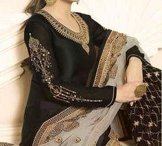 Latest Punjabi Suits Design, Latest Suit Design, Dress Indian Style, Indian Dresses, Indian Outfits, Indian Wear Rajasthani Dress, Rajputi Dress, Jaipur, Color Combinations, Sari, Suits, Model, Dress Ideas, Dresses #suitdesign #colourcombination #punjabisuits #punjabisuit #contrastcolour #colorcombination Colours Combination Ideas Suits Kurti Dress New Colour Combination For Punjabi Suits Fashion Trends contrast colour combination for lehenga,peach colour combination dresses Indian Designer Suits, Latest Punjabi Suits Design, Punjabi Suits Designer Boutique, Beautiful Color Combinations, Churidar, Jaipur, Lehenga, Pink Color, Colour