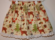 Hey, I found this really awesome Etsy listing at https://www.etsy.com/listing/199019983/woodland-christmas-size-2-to-7-i-have-a