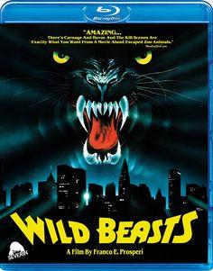 WILD BEASTS SEVERIN FILMS BLU-RAY
