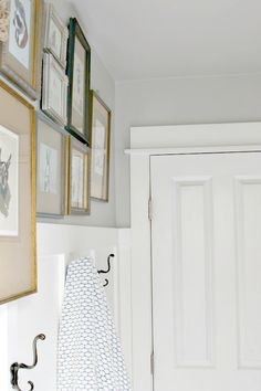 Subtle greys like Quiet Rain bring peace and serenity to a small room, making it a perfect choice for bathroom walls. Find out more at MyColortopia.com
