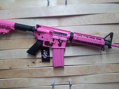 www.scalpelarms.com  Pink Playboy Bunny AR