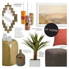 """Desert Dreams"" by leinapacheco ❤ liked on Polyvore featuring interior, interiors, interior design, home, home decor, interior decorating, Emissary, Dot & Bo, CB2 and Jayson Home"