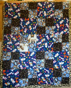 Just completed this quilt to be sent to Canada for a charity as part of the 2015 Hands2Help quilt drive!