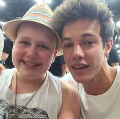 Cam was crying bc of this beautiful strong girl. #StayStrongCaroline