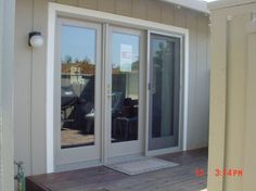 sliding door as primary entry - Google Search