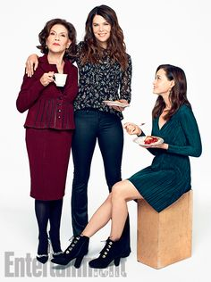 Elenco de Gilmore Girls é capa da nova edição da EW | Gilmore Girls Brasil                                                                                                                                                                                 Mais