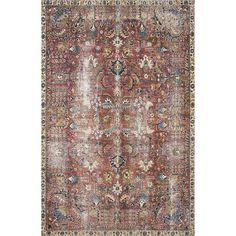 Chris Loves Julia x Loloi Jules JUL-01 Vintage Overdyed Area Rugs | Rugs Direct Chris Loves Julia, Class Design, Traditional Looks, Joss And Main, Power Loom, Rug Making, Woven Rug, Small Dogs, Rug Size
