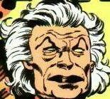 Darkseid New God of all Evil's lueutenant Granny Goodness on Apokolips