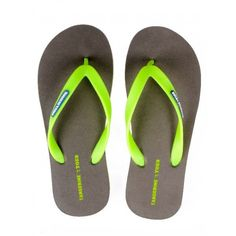 Buy Tangerine Toes Mens Basic Grey Flipflop