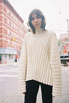89f2519f49 Maryam Nassir Zadeh Sweater Coats
