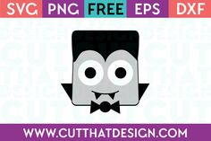 Cut That Design provides a large selection of Free SVG Files for Silhouette, Cricut and other cutting machines. Available in SVG, DXF, EPS and PNG Formats. Halloween Buckets, Halloween Crafts, Holiday Crafts, Vampire Party, Silhouette Cameo Projects, Cricut Vinyl, Dracula, Trick Or Treat, Art For Kids