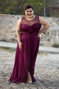 La Fatshionista - Blog de Moda Curvy   Outfit Sabor a Mi. Con este super vestido para tallas extra de Eva Brazzi a la venta en Liverpool