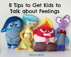 Use puppets to teach dealing with emotions-- puppet experiences emotion and teacher talks him through it