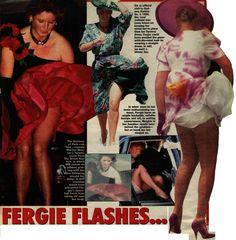 Malfunction fergie wardrobe