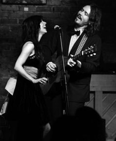 The Civil Wars. I know they're not married, but they have amazing AMAZING chemistry & they make incredible music.