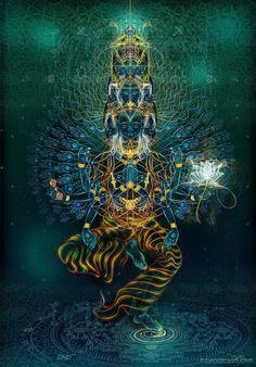 avalokiteshvara  / Sacred Geometry <3