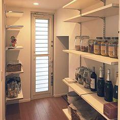 Kitchen/パスタ/シャンパン/自作ラベル/パントリー収納のインテリア実例 - 2015-05-24 00:05:45
