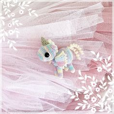 Tiny Animal Series - Unicorn Little Unicorn, All Toys, Toy Sale, Jelly Beans, Pale Pink, Hand Sewing, Rainbow, Make It Yourself, Crochet