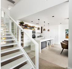 Matthews & Scavalli Architects is an innovative and vibrant practice located in Perth Western Australia with the skills and experience necessary to address any project of any size. Perth Western Australia, Stairs, Bed, Table, Architects, Furniture, Home Decor, Projects, Log Projects