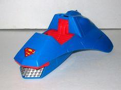 Vintage 1985 Kenner Super Powers DC Comic Justice League SUPERMAN Ram Vehicle