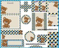 etiquetas para baby shower - Buscar con Google