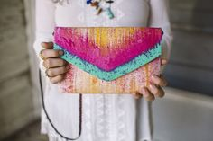 Cross body purse/envelope clutch purse/ by MyALaModeBoutique