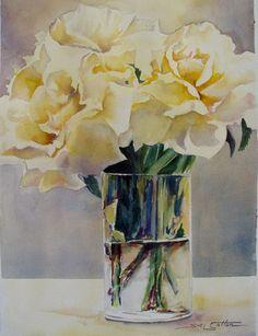 wfYellow Roses.jpg (497×648) by Sue Lynn Cotton