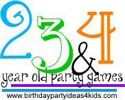 Birthday party games for toddlers, 2, 3 and 4 year olds  http://www.birthdaypartyideas4kids.com/fun-birthday-party-games-2-3-4.htm