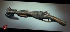 Shadow Warrior 2 weapons look fantastic in new concept art