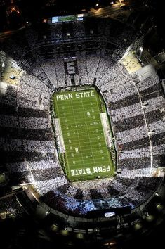 cool football stadium pic Penn State