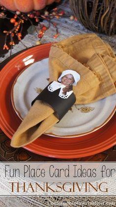 Thanksgiving Napkin Holders