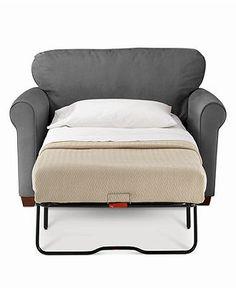 Sasha Sofa, Twin Sleeper. Great for the baby room.