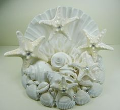 Wedding Cake Topper   Sea Constellation  Seashell by ShellScapes, $59.00