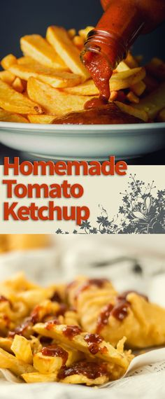 Homemade Tomato Ketchup Recipe: Nothing for me quite beats the joy of a homemade tomato ketchup, whether loaded on a hamburgers, fish finger sandwich or on fish and chips!