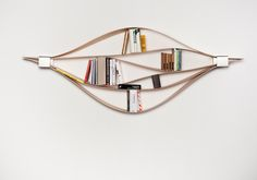 the flexible wooden shelving system